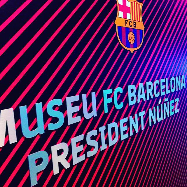 Open Print - Gran Formato - Rotulacion Museo FC Barcelona