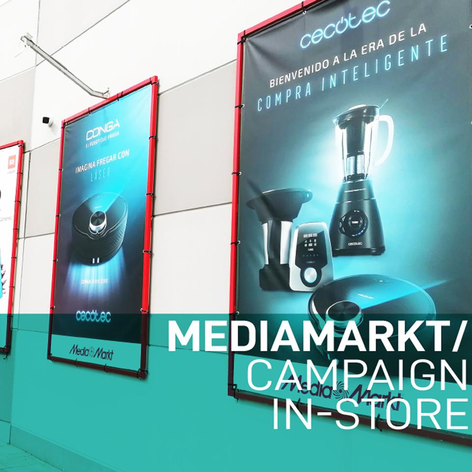 Open Print - Mediamarkt Campaign in Store