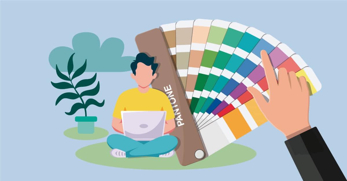 qué son los colores pantone