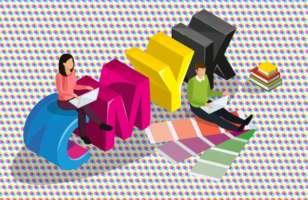 ¿Qué son los colores CMYK y cómo usar esta paleta en tus impresiones?
