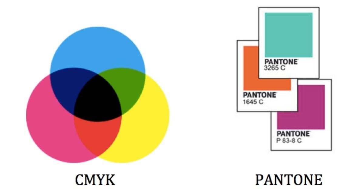 Diferencias entre cmyk y pantone