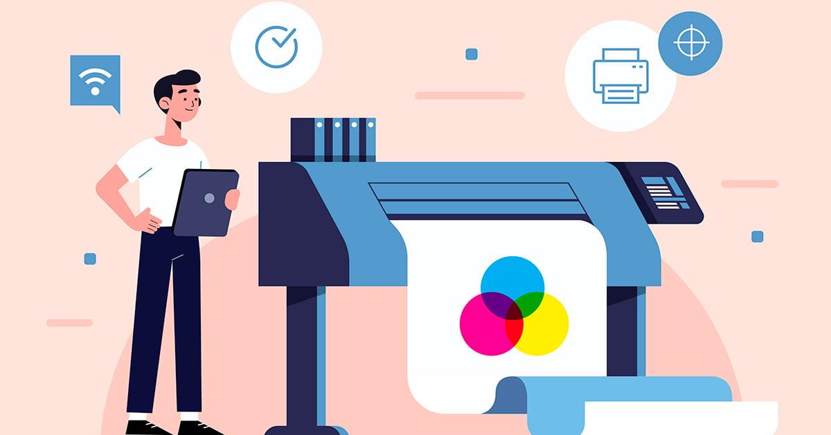 sistema de impresión digital