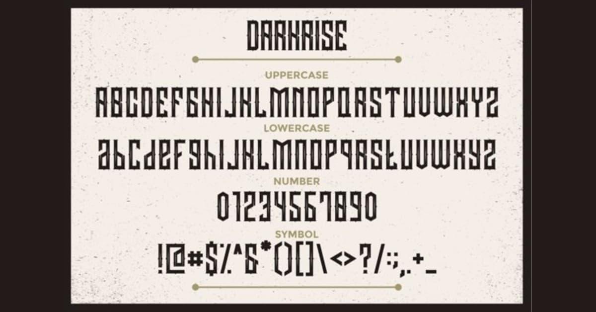 letras para carteles publicitarios darkrise