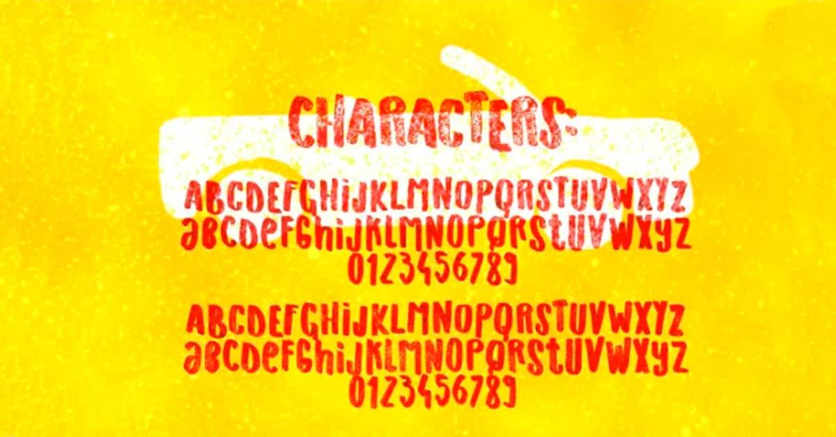 tipografia cartel originals